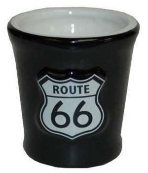 R66 Ceramic Relief Shield Shotglass