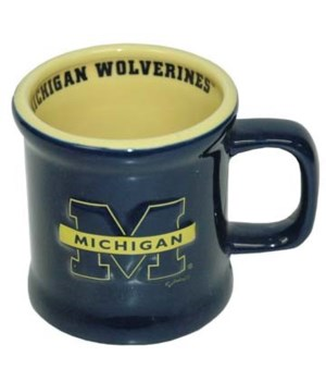 U of M Mug Ceramic Relief Logo 10oz