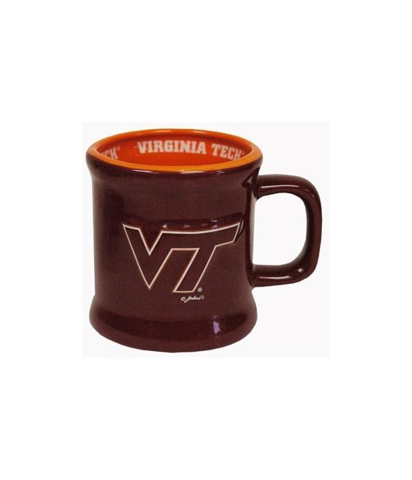 VA-T Mug Ceramic Relief Logo 10oz