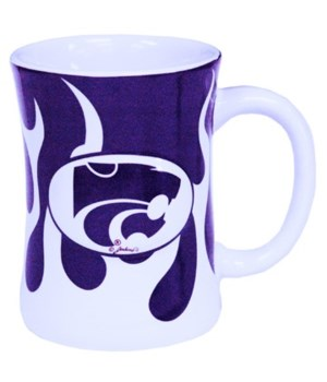 KS-S Mug Ceramic Flames 10oz