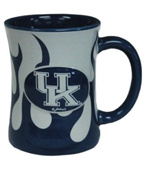 U-KY Mug Ceramic Flames 10oz