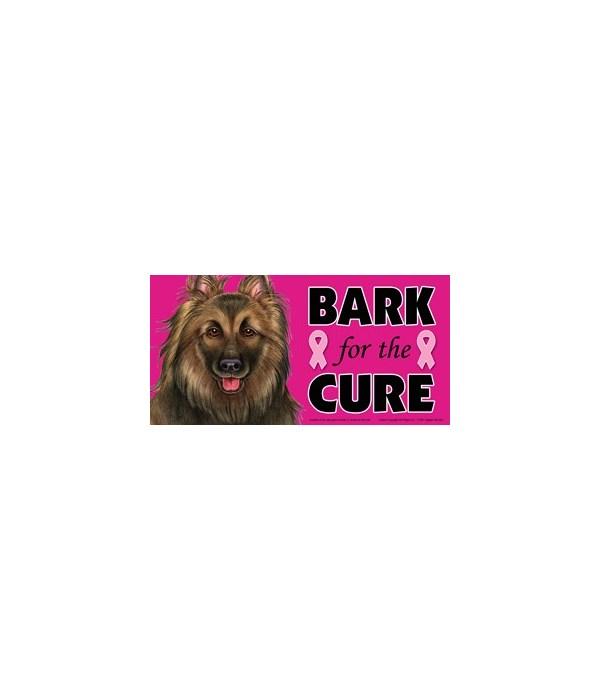 Bark for the Cure Belgian Tervuren 4x8 C