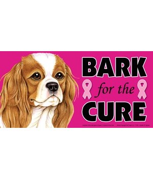 Bark for the Cure Cavalier King Charles