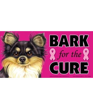 Bark for the Cure Chihuahua (Long haired