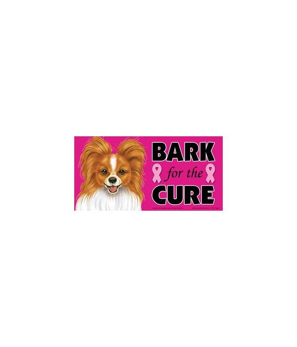 Bark for the Cure Papillon (Red-brown &