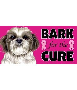 Bark for the Cure Shih Tzu (puppy cut /