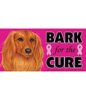 Bark for the Cure Dachshund (Long hair)