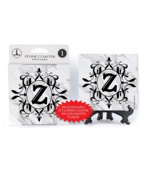 """Lettered Marble Coasters - """"Z"""""""