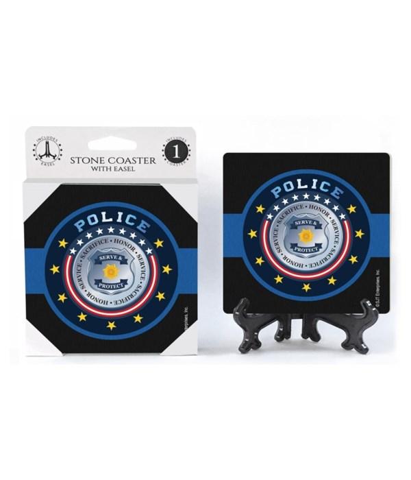 Police Department Badge - Alternate Desi