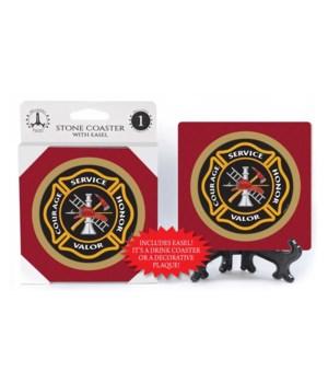 Fire Department Badge - Alternate Design