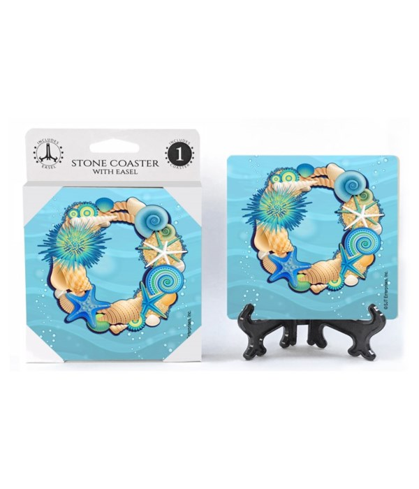 "Lettered Ocean Coasters - ""O"""