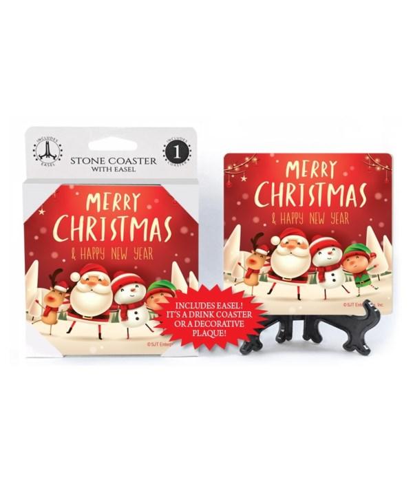Merry Christmas & Happy New Year - Santa