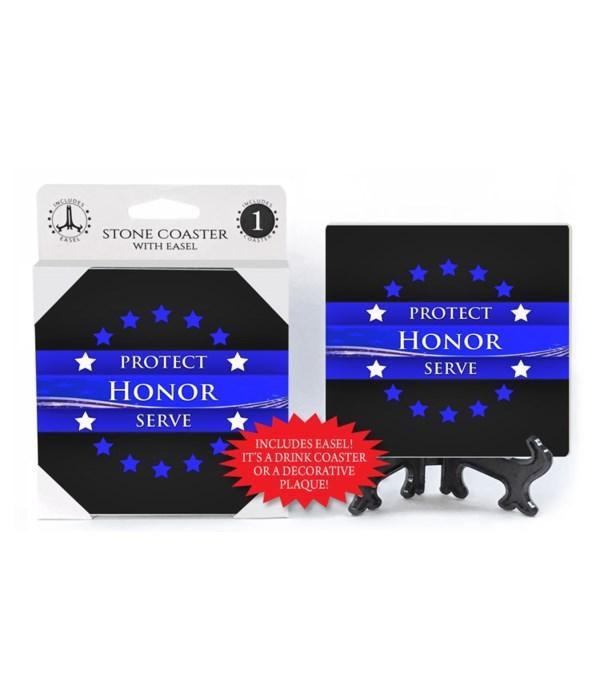 Protect -Honor - Serve - Circle of star
