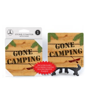 GONE CAMPING  Coaster