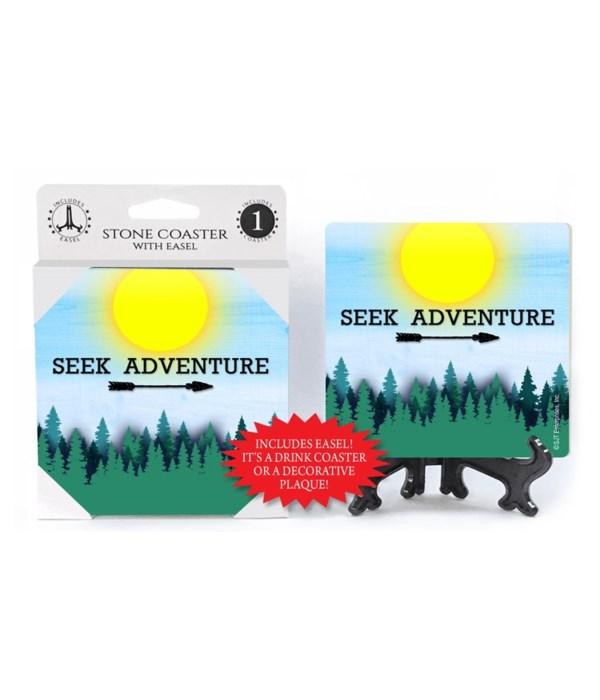 Seek Adventure - Sun and Forest Coaster