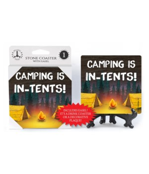 Camping is In-Tents - Camping scene Coas