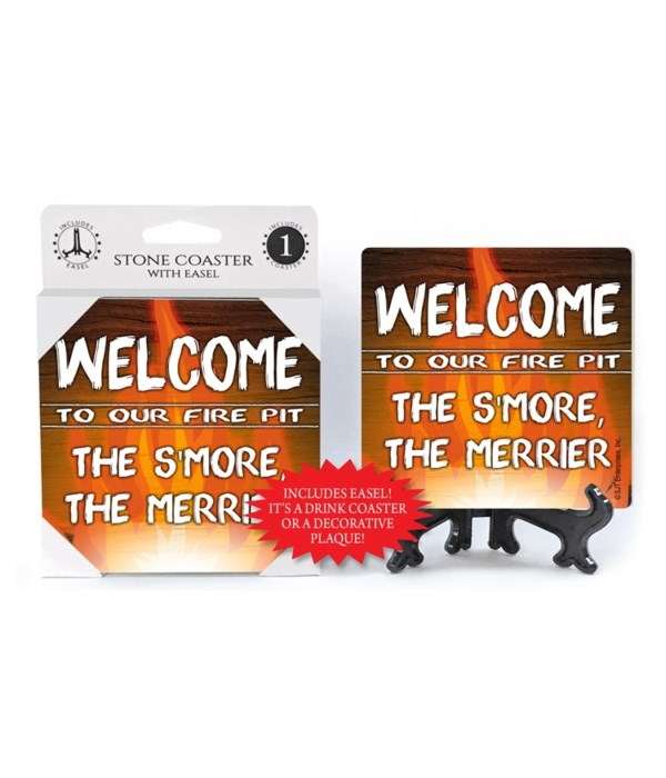 Welcome to our Fire pit - The Smore the