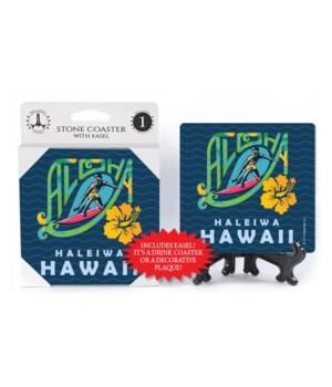 Aloha - Haleiwa - Hawaii - surfer, hibis