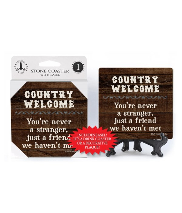 Country Welcome - You're never a strange