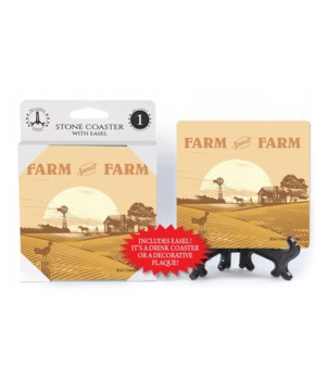 Farm Sweet Farm Coaster