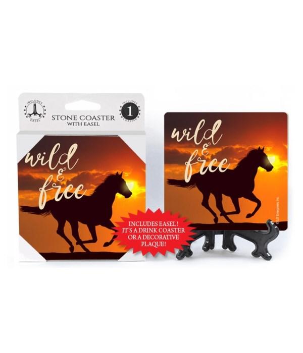 Wild & free (horse) Coaster