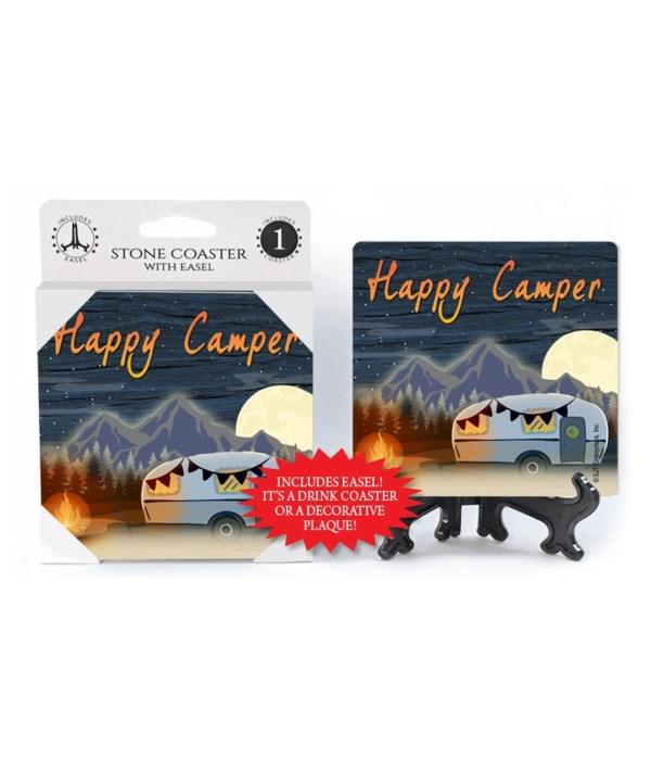 Happy Camper - night w/moon - firepit ne