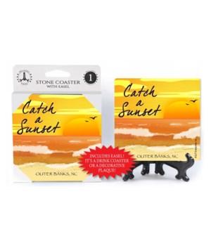 Catch a Sunset - Beach / Coastal Coaster