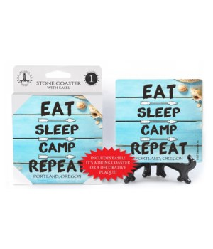 Eat - Sleep - Camp - Repeat - Beach / Co