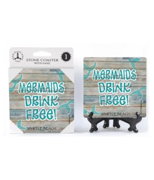 Mermaids drink free! aqua mermaid tails