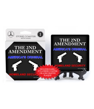 The 2nd amendment original coaster