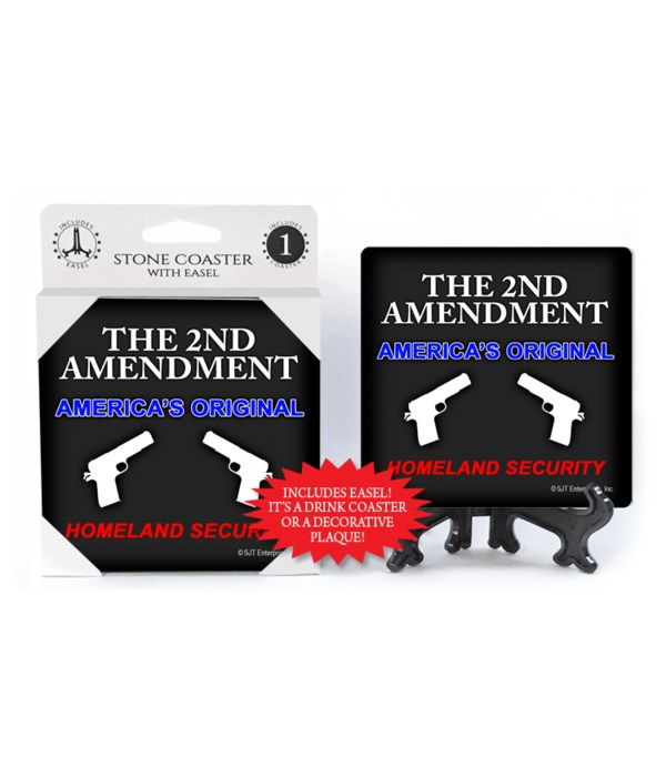 The 2nd amendment original coaster