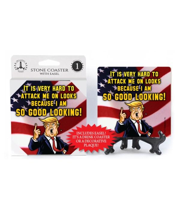 Trump so good looking coaster
