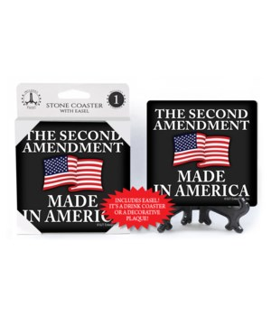 2nd amendment made in America coaster