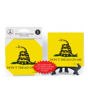 Don't Tread on Me flag coaster