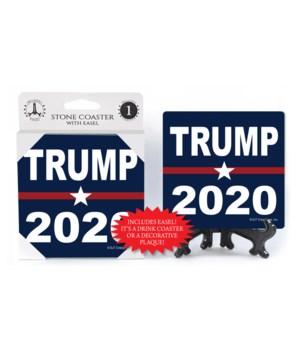 Trump - 2020 - blue bkgd