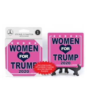 Women for Trump 2020 - Pink bkgd
