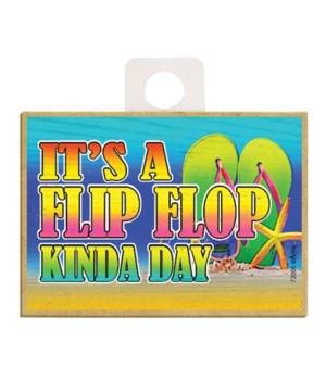 It's a flip flop kinda day Magnet