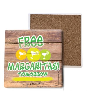 Free margaritas tomorrow - green with ci