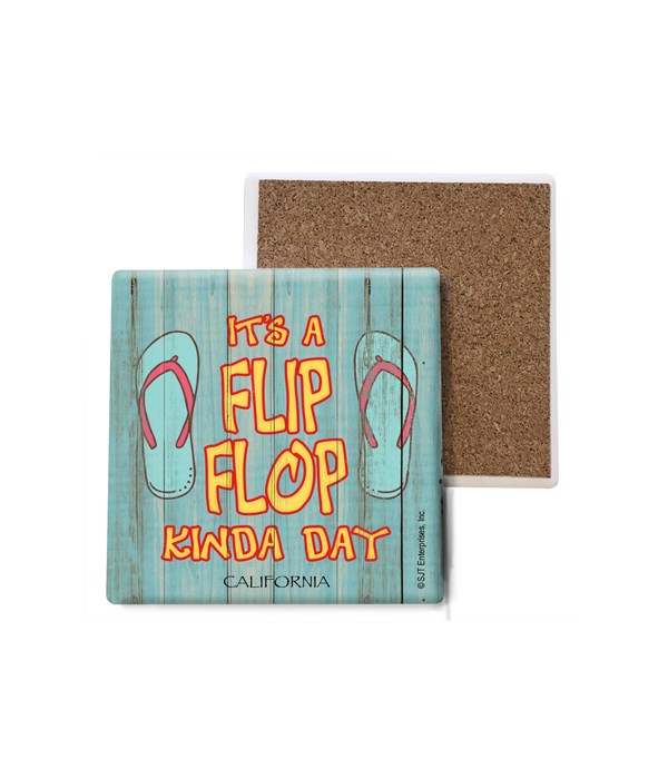 It's a flip-flop kinda day - flip-flops