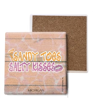 Sandy toes and salty kisses - foot print