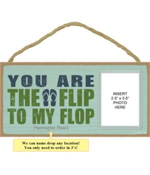 Flip Flop 5x10 plaque