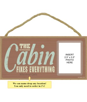 The cabin fixes everything
