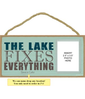 The lake fixes everything