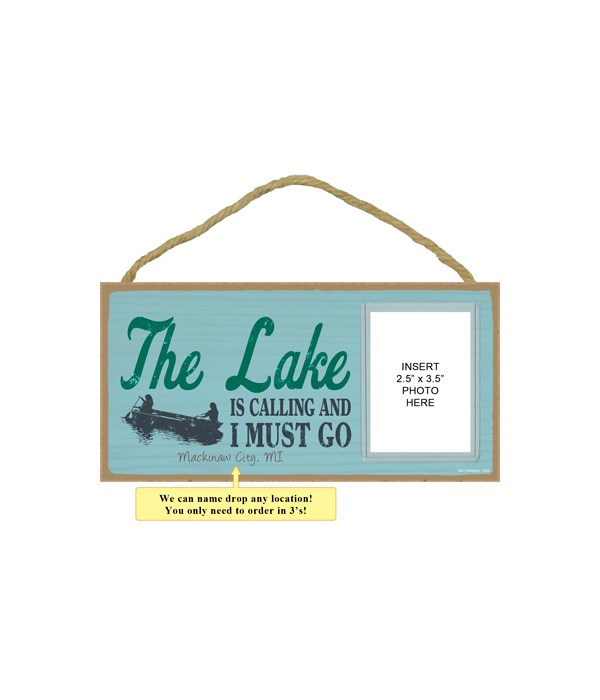 The lake is calling and I must go (boat image)