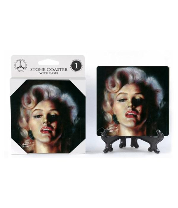 Marilyn Monroe (color portrait) Coaster
