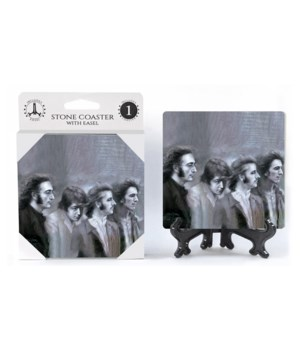 The Beatles (black and white portrait) C