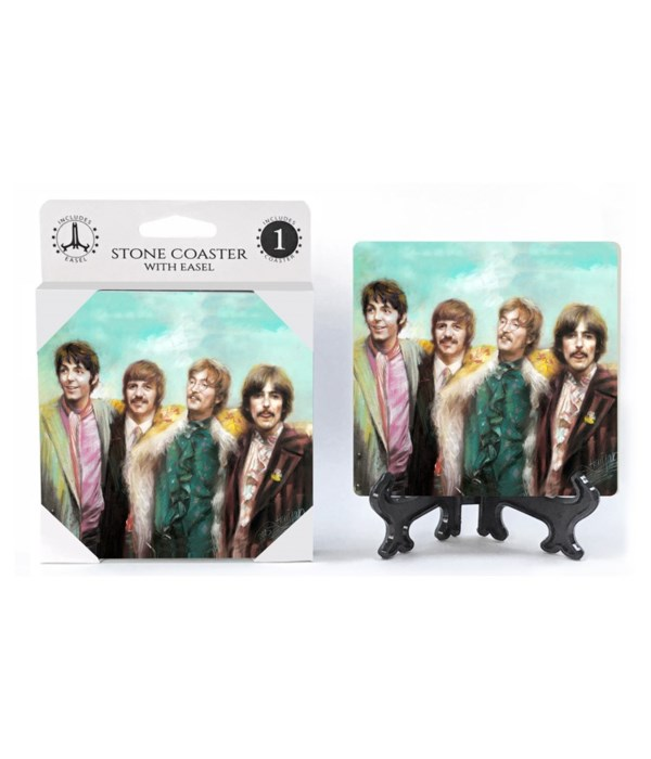 The Beatles (full color) Coaster