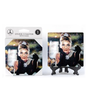 Audrey Hepburn (full color) Breakfast at