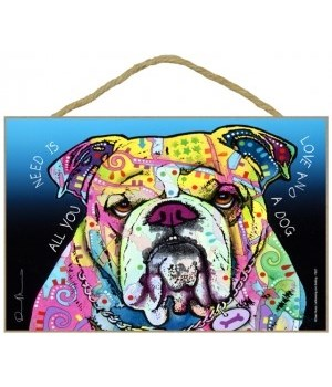 Bulldog - All you need 7x10 Russo