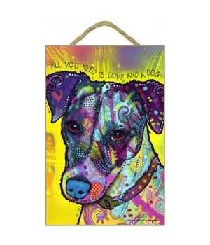 Jack Russell - All you need 7x10 Russo